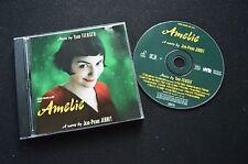 AMELIE ULTRA RARE SOUNDTRACK CD! YANN TIERSEN JEAN-PIERRE JEUNET