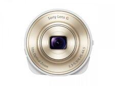 USED VERY GOOD Sony Cyber-shot DSC-QX10 18.2MP Digital Camera White Japan Import