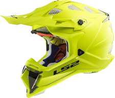 LS2 MX470 Subverter Motocross Helmet Hi Viz Yellow Off Road Crash Lid Racing MX