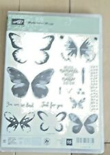 """Stampin' Up! """"Watercolor Wings"""" and Matching Dies (second photo) Butterflies"""