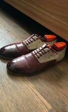 Oxford Georgia shoes in burgundy 10 H size