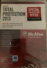 McAfee Total Protection 2013 (Retail) - Full Version for Windows...