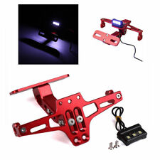 Universal Motocycle CNC License Plate Holder Bracket Fender Eliminator For Honda