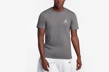 Nike Jordan Jumpman Embroidered T-Shirt Gray Ah5296-091 Men's Nwt