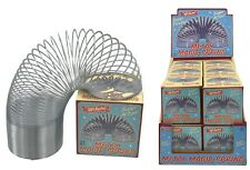 Magic Springy Slinky Metal Spring 6.5cm Dia Children Retro Game Toy TY2168 NEW
