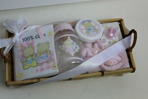 Cudlie Accessories Baby Gift 100% Cute Gift Basket Girl NWT