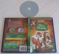 DVD WALT DISNEY GRAND CLASSIQUE ROX ET ROUKY N° 29 LOSANGE JAUNE