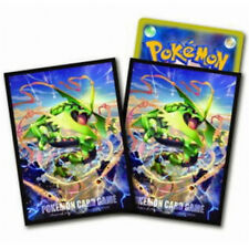 Pokemon XY Emerald Break MEGA RAYQUAZA Character Card Sleeves X Y 32pc TCG MTG