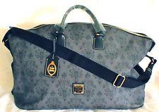 New Disney Haunted Mansion Dooney & Bourke Weekender Tote Duffle Bag Luggage