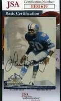 Lem Barney 1994 Ted Williams  Jsa Coa Hand Signed Authentic Autograph