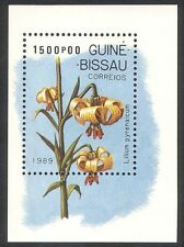 Guinea Bissau 1989 Orchids/Flowers/Nature m/s ref:b10109