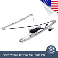 Power Window Regulator fits Cadillac Escalade Chevy Front Right w//Motor 741-645