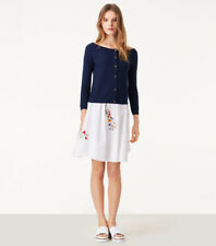 NEW Tory Burch Rosemary Cashmere Cardigan- navy size M $325