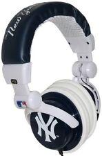 iHip NY YANKEES DJ STYLE  BASS HEADPHONES - FREE SHIPPING
