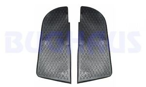 VW 73-79 BUS FRONT BUMPER STEP RUBBER PADS - PAIR - NICE QUALITY! FREE SHIP!