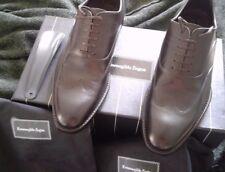 $695 Ermenegildo Zegna brown  Oxfords Shoes Size US 8 EU 7