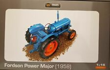 UH FORDSON POWER MAJOR TRACTOR 1/16 SCALE
