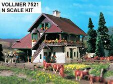 Vollmer N Scale 7521 City Train Station Reith *NEW $0 SHIP*USA DEALER! N N N