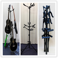 Haze GS030 Metal-Rubber Structure, Tripod-Stand 6 Guitar Stand Collapsible