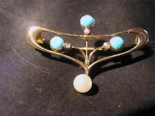 Turquoise Art Nouveau (1895-1910) Fine Jewellery