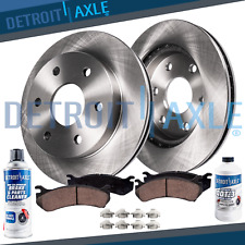 Rear OE Brake Rotors and Ceramic Pads SET FOR 2006 KIA SEDONA MADE TO 04//27//06