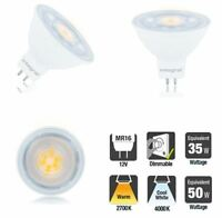 LED MR16 DIMMABLE 12v Light Bulb 2700k Warm / 4000k Cool. 4.6W-8.3W 3-Pack avail