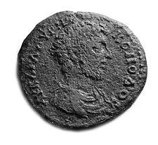 ANCIENT COMMODUS 161-192AD - GREEK PROVINCIAL DUPONDIUS   #414