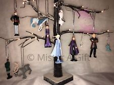 Disneys Frozen 2 Set Of 10 childrens characters christmas tree decorations