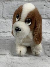 Hush Puppies Basset Hound Dog 1981 Wolverine Worldwide 49351 White Brown Plush