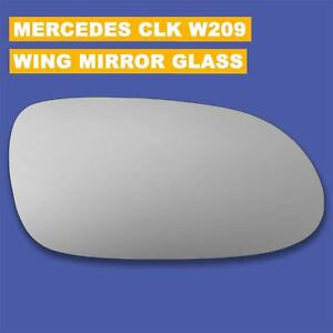 For Mercedes CLK W209 / C209 wing mirror glass 03-09 Right Driver side Spherical