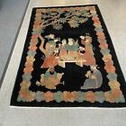 ANTIQUE CHINESE ART DECO RUG #9348 4.0x5.10 in perfect condition