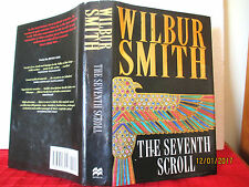 Wilbur Smith THE SEVENTH SCROLL 1995 1st edition A Novel of Ancient Egypt