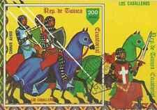 Timbre Chevaux Guinée équatoriale o lot 18165