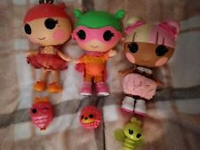 Lalaloopsy dolls bundle