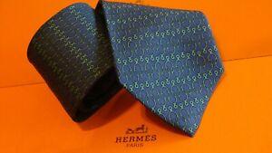 HERMES  silk tie, Equine classic, Stirrups