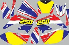 Graphic Kit for 2002-2012 Honda CR250 CR 250 shrouds fender plastic decals