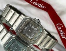 Cartier Santos Galbèe Ref. 1565 Stainless Steel quartz ladies watch Santo Watch