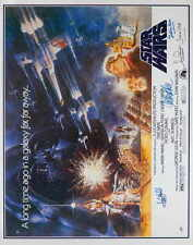 STAR WARS Movie POSTER 22x28 Half Sheet Mark Hamill Carrie Fisher Harrison Ford