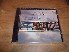 (3) Encyclopedia Britannica Lot Great Minds World Leaders CD ROM WIN/MAC NEW