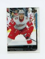 18/19 UPPER DECK YOUNG GUNS ROOKIE CLEAR CUT ACETATE #486 DOMINIC TURGEON *61316