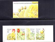 PORTUGAL-MADEIRA #157-160b  1992  FRUITS & PLANTS     MINT  VF NH  O.G  C/B