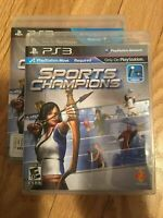 SPORTS CHAMPIONS - PS3 - COMPLETE WITH MANUAL - FREE S/H - (DD)