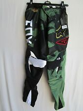 "FOX racing YOUTH motocross BMX 360 Camo pants 28"" waist"