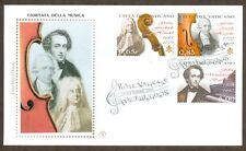 Vatican City Sc# 1427-9, Handel, Hayden & Mendelssohn, First Day Cover