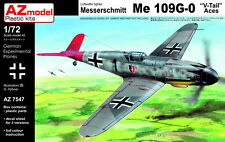 AZ Models 1/72 Messerschmitt Bf 109G-0 V-Tail 'Aces' # 7547