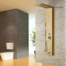 4 Function Bathroom Screen Display Rainfall Mixer Shower Panel Wal Mount Units