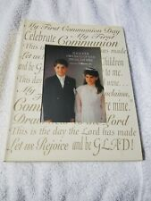 My First Communion Book that hols pictures by Roman, inc