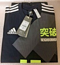 adidas Kachiiro Collection x NEIGHBORHOOD TEE Black T-shirt M Size JAPAN
