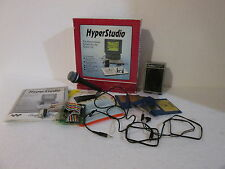Rare Vtg Roger Wagner Apple IIgs HyperStudio in Box w/ Software & Accessories