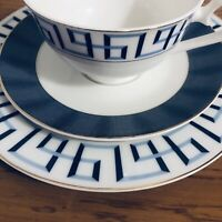 1 NEW Joseph Sedgh Fine Bone China Bentley Cobalt HOSTESS SET!  Beautiful Set!